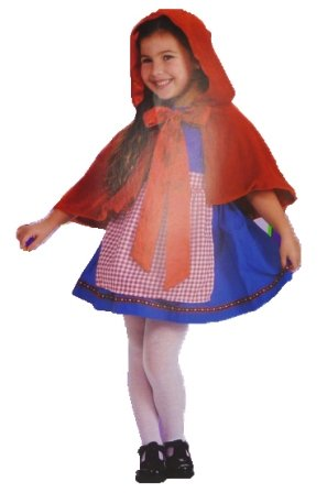 Lil Red Riding Hood Child Costume Small 4-6
