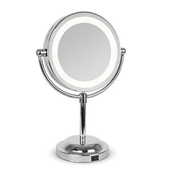 led make up vanity dressing table illuminated magnifying mirror light. Black Bedroom Furniture Sets. Home Design Ideas