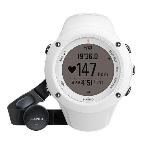 Suunto Ambit2 R White Heart Rate (Hr) Orologio, Unisex adulto, Bianco