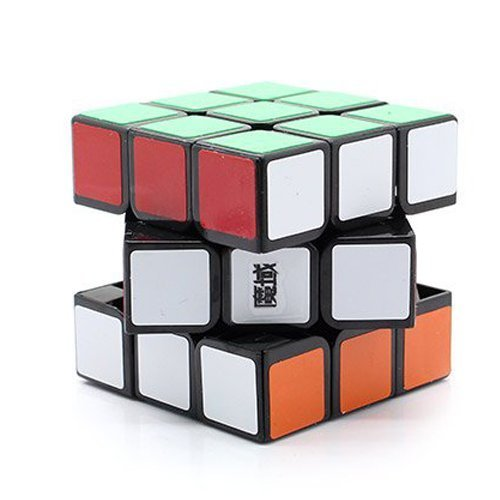 MoYu YJ Weilong 3 x 3 x 3 Black Speed Cube Puzzle