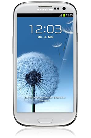 Samsung Galaxy SIII Smartphone (16GB, UK Sim Free Unlocked) - Marble White