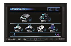 See Exonic EXD 7082 7-Inch Motorized Double Din TFT LCD Multimedia Disc Player Details