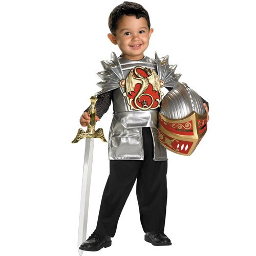Knight of The Dragon Costume - Toddler Medium