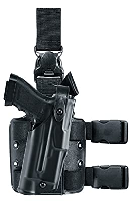 Safariland 6305 ALS Tactical Leg Holster with Detachable Leg Harness, Black, STX, Right Hand, S&W M&P