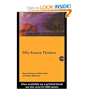 Fifty Eastern Thinkers by Diané Collinson,.