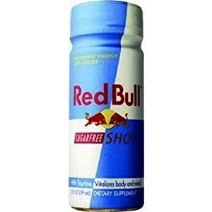Red Bull Sugar Free Energy Shot, 2-Ounce Bottles (Pack of 24)