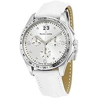 Maurice Lacroix Miros Diamond Dial Chronograph Ladies Watch (White)