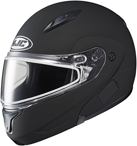 HJC CL-Max 2 Snow Helmet Matte Black XXXXL 4XL 1145-0235-10 (Modular Helmet Xxxxl compare prices)