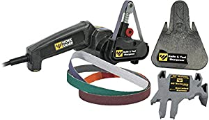 Work Sharp Knife & Tool Sharpener - Fast, Easy, Repeatable, Consistent Results (Color: White / Black, Tamaño: Medium)