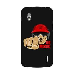 Garmor Designer Plastic Back Cover ForLG Nexus 4 E960