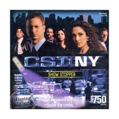 CSI: NY - 750 Piece Mystery Puzzle - Show Stopper - 1