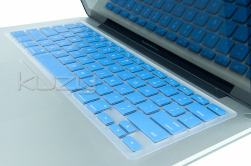 =>>  Kuzy - SKY BLUE Keyboard Cover Silicone Skin for MacBook Pro 13