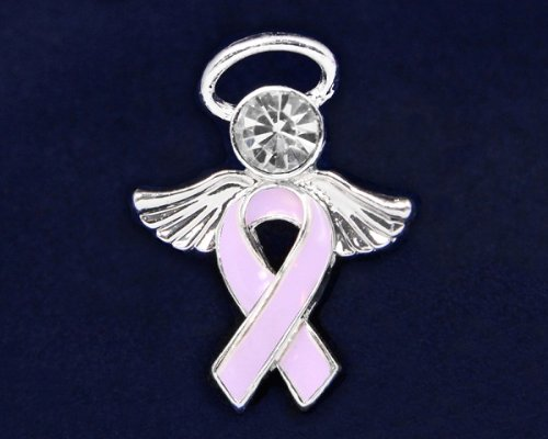 Lavender Ribbon Pin - Angel Tac (36 Pins)