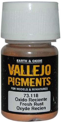 Vallejo Earth and Oxide Pigments, Fresh Rust