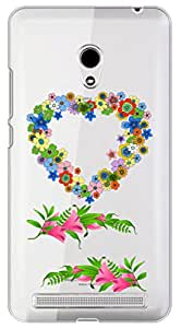 WOW Transparent Printed Back Cover Case For Asus Zenfone 6 A600CG,Asus Zenfone 6 A601CG