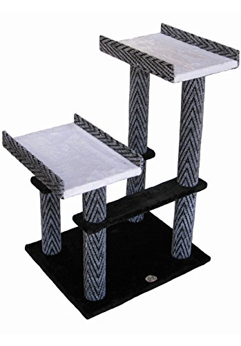 Go Pet Club 32″ Tall Black Cat Tree Furniture