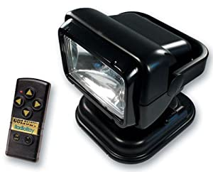 Go Light Portable Radio Ray Searchlight with Magnetic Shoe by Go-Light