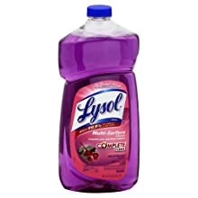 Lysol 78631 All Purpose Cleaners Lavender Breeze Pourable 40-Ounce. (Case of 9)