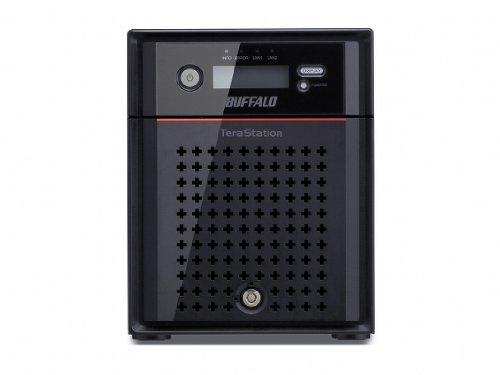Buffalo TeraStation 4400 4 Alloggiamenti Archiviazione Esterna Desktop Diskless, Nero