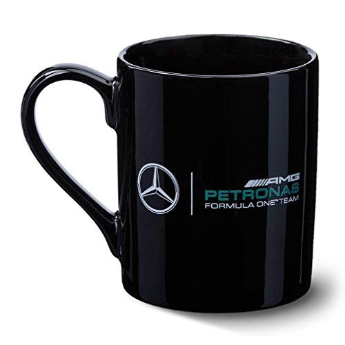 mercedes-benz-tazza-in-ceramica-con-logo-team-amg-f1-colore-nero-bianco-nero-taglia-unica