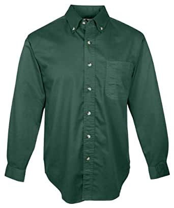 Tri mountain men 39 s big and tall easy care dress shirt for Dress shirts for tall men