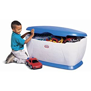 Little Tikes Giant Toy Chest (Blue/White)