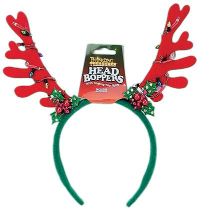 D&D Distributing Twinkling Antler Head Bopper