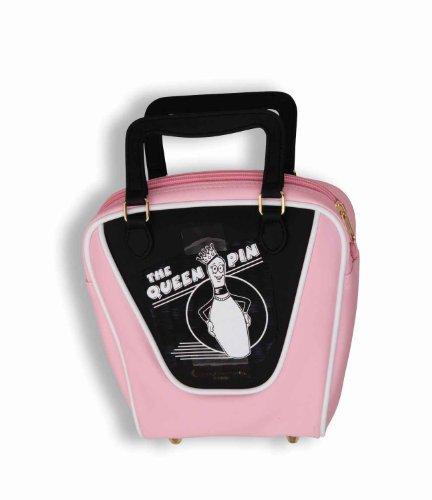 Forum Novelties Flirtin' With The 50'S Pink Bowling Ball Purse front-656921