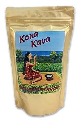 KONA KAVA Premium Powdered Kava Root (8oz)
