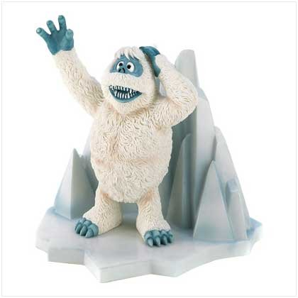 discount xmas inflatables:Bumble the actual Yeti porcelain figurine - Rudolph the actual Red Nosed Reindeer Images