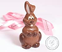 Laughing Chocolate Bunny Gluten Free Milk Free Nut Free Vegan by Premium Chocolatiers