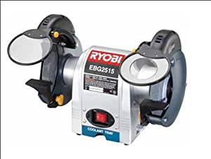 Ryobi Ebg 2515 150mm Bench Grinder Amazon Co Uk Diy Amp Tools