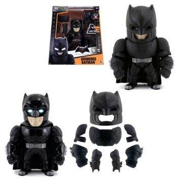 "New Batman V Superman ALTERNATE VERSION Merchandise - 6"" Metal DieCast (Die-Cast) REMOVAVLE ARMORED BATMAN Action Figures By Jada Toys"