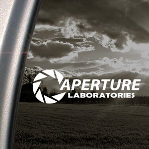 APERTURE SCIENCE LABORATORIES Decal Window Sticker