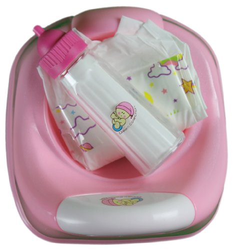 3 In 1 Potty Time For Baby Doll Diaper, Potty & Milk Bottle front-305242
