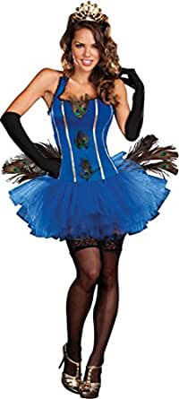 Morris Costumes Women's ROYAL PEACOCK Costume