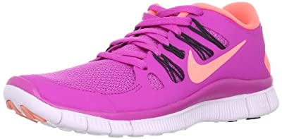977445e50 Low Nike Womens Free 5.0+ Running Shoes Club Pink Anthracite Violet Atomic  Pink 580591-660 Size 6 FREE Shipping