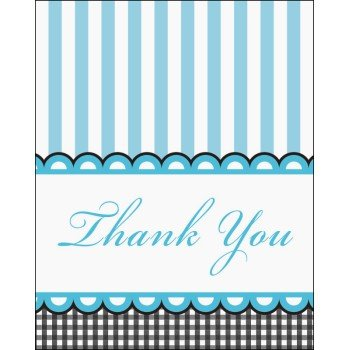 Baby Feet Thank You Cards