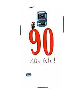 EPICCASE 90 Alles Gute Mobile Back Case Cover For Samsung Galaxy S5 Mini (Designer Case)