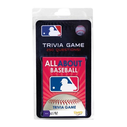 Mlb All About Trivia Card Game