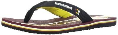 Quiksilver Men's Washington Redskins NFL Flip Flop