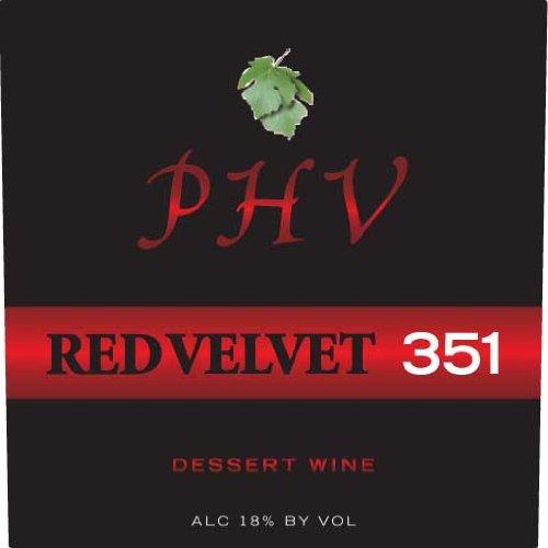 Nv Plum Hill Vineyards Red Velvet 351 Dessert Wine 500 Ml