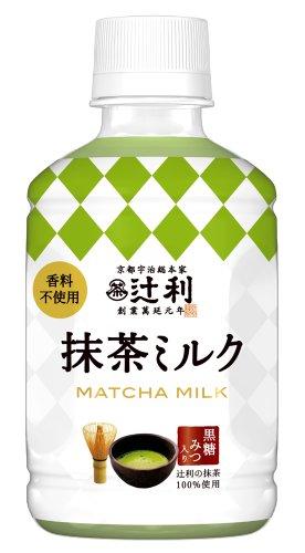 辻利 抹茶ミルク (ペットボトル) 270ml×24本