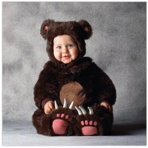 Tom Arma Brown Bear Child Costume Size 4T-5T