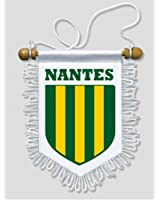 KOO Interactive - Fanion Voiture Nantes - 13 x 15 cm - Blason Ecusson Football