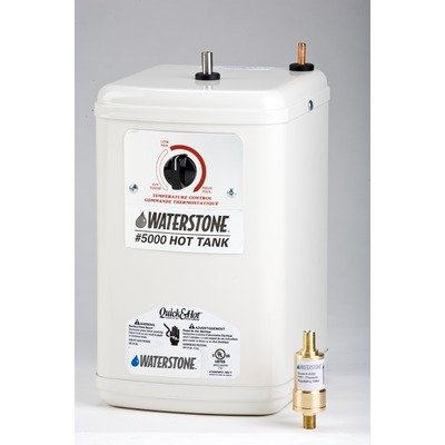 Waterstone 5000 White Waterstone Hot Water Tank - Quick & Hot (Quick And Hot Tank compare prices)