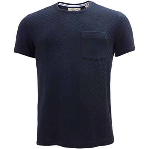 original-penguin-camiseta-camisetas-cuello-redondo-manga-corta-para-hombre-azul-dark-sapphire