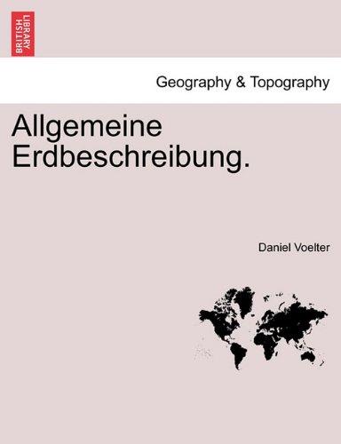 Allgemeine Erdbeschreibung.