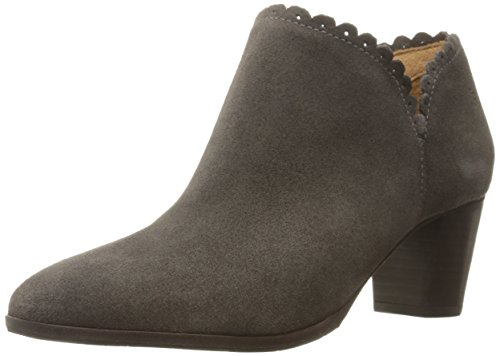Jack Rogers Women's Marianne Suede Boot, Dark Grey, 8 M US (Grey Jack compare prices)