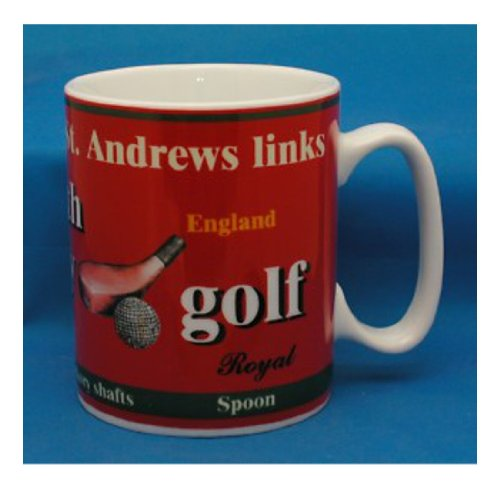 Golf Gifts And Gallery St Andrews Tapered Mug